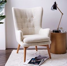 west elm's modern furniture sale helps make decorating easy. Save on a wide range of home decor and home furnishings. Living Room Chairs, Home Living Room, Living Room Furniture, Modern Furniture, Home Furniture, Furniture Design, Furniture Chairs, Dining Chairs, Upholstered Chairs