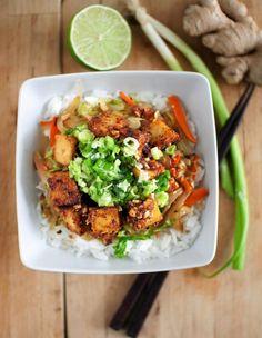 Sinäkin voit rakastua tofuun - Kiusauksessa - Kiusauksessa - Helsingin Sanomat Raw Food Recipes, Asian Recipes, Vegetarian Recipes, Healthy Recipes, Ethnic Recipes, Vegan Food, Food Food, Healthy Food, Tofu