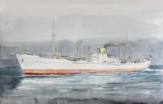 Temnikov watercolors, paintings in oils. Ship Paintings, Ship Art, Sailing Ships, Colours, Watercolors, Boats, Artist, Water Colors, Ships
