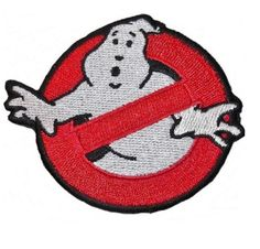 Ghostbuster Movie Embroidered Uniform Logo Cute Fun Popular High Quality Patch