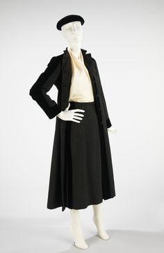 Ensemble ca. 1935 via The Costume Institute of the Metropolitan Museum of Art