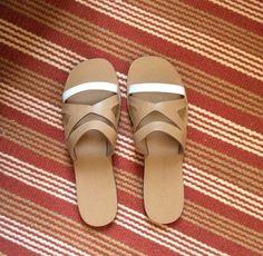 Zeus & Dione, Myrtle sandals. Greek designer