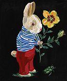 Illustrator in Paris gained popularity in Japan, Natalie Rete.