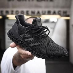 The adidas Futurecraft does exist in Triple Black. For a closer look, hit the link in our bio. Women's Shoes, Shoes Sneakers, Sneakers Design, Cheap Sneakers, Zara Shoes, Shoes Men, Leather Sneakers, Running Shoes For Men