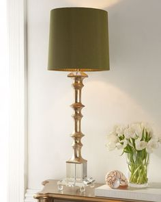 """Oh hello...""""Melrose"""" Buffet Lamp at Horchow."""