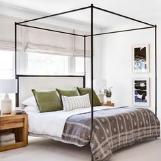 Strike the perfect balance of relaxed and refined. Get the look at theshadestore.com. #LoveYourWindows Design: Rosa Beltran // Photo: Chad Mellon