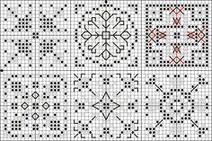 Таинственные вещицы - Mysterious knickknacks:  part of pattern to make*quaker ball