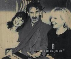 Miss Pamela, Frank Zappa, & Cynthia Plaster Caster