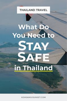What Do You Need for Thailand? 16 things you need for Thailand – including everything you definitely need, and things that you might. From staying safe in Thailand, to enjoying the beach – here's your total list. Click through to read more: https://www.kohsamuisunset.com/what-do-i-need-for-thailand/ | #bangkok #thailand #phuket #kohsamui