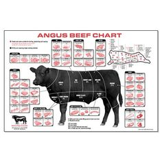 Buy Beef Cuts Of Meat Butcher Chart cattle diagram Mini Poster poster Measures Excellent quality poster. Beef Cuts Of Meat Butcher Chart cattle diagram Mini Poster posters for sale. Check out our site for latest sales. Beef Cuts Diagram, Beef Cuts Chart, Carne Angus, Angus Beef, Meat Butcher, Butcher Shop, Carnicerias Ideas, T Bone Steak, Beef