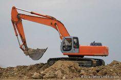 Excavator Peter  Martin Mascus