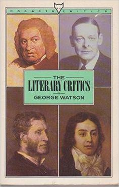 literary critics george watson - Pesquisa Google