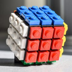 Building Block Brainteasers - This LEGO Puzzle is Designed After the Infamous Rubik's Cube (GALLERY)