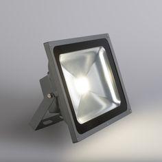 Proyector LED KICK Pro 50W grafito #iluminacion #decoracion