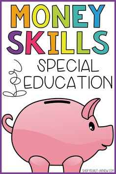 Teaching and generalizing money skills in the Special Education classroom is a breeze with these activities.