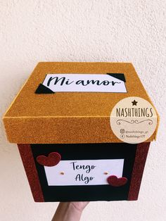 Cajas personalizadas ❤️ – - Quixotic Tutorial and Ideas Diy Birthday, Birthday Gifts, Happy Birthday, Bf Gifts, Gifts For Him, Boyfriend Anniversary Gifts, Boyfriend Gifts, Girlfriend Proposal, Valentine Day Gifts