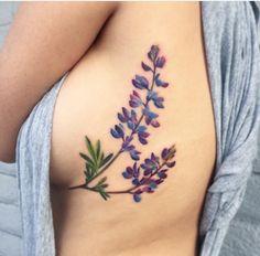Lupin tattoo
