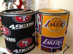 DIY Christmas Gift: Sports cans for Men (Day 2)
