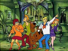 Scooby Doo. Bringing back childhood memories