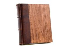9x10 Italian Reclaimed Antiquated Wood Photo Album by Epica