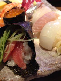 寿司ランチ 手巻き