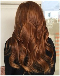 brown copper hair