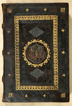 The Morgan Library & Museum - Incunable Bookbinding - PML 1127 - Front cover, outside