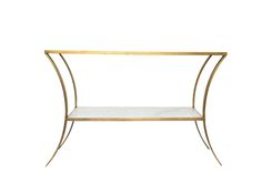 """Rivers-spencer-carey-console-furniture-console-tables-metal-traditional 54""""L x 18""""D x 34""""H"""