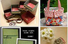 20 Gift Wrap Ideas {homemade}
