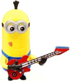 Minion Rock Star - Poseable Figure super cute gift!