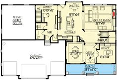 House Plan for Game and Sports Lovers - 73347HS | 2nd Floor Master Suite, Butler Walk-in Pantry, CAD Available, Craftsman, Den-Office-Library-Study, Exclusive, Loft, Luxury, MBR Sitting Area, Media-Game-Home Theater, Multi Stairs to 2nd Floor, Northwest, PDF, Photo Gallery, Sloping Lot, Sport Court, Traditional | Architectural Designs