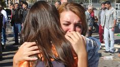 Nearly 100 dead as Ankara peace rally rocked by blasts - Al Jazeera English. Oct 2015.