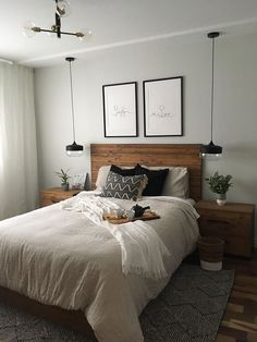 bedroom decor ideas for couples ~ bedroom decor . bedroom decor for couples . bedroom decor for small rooms . bedroom decor ideas for women . bedroom decor ideas for couples Small Space Bedroom, Small Master Bedroom, Small Room Decor, Master Bedroom Design, Master Suite, Small Spaces, Small Apartments, Narrow Bedroom, Bedroom Decor For Small Rooms