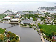 USNA birds eye view