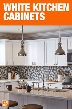 Idea, formulas, including quick guide in pursuance of acquiring the most ideal result and coming up with the maximum usage of Bathroom Update Ideas Kitchen Cabinets Home Depot, White Kitchen Cabinets, Diy Kitchen, Kitchen Remodel, Kitchen Dining, Kitchen Decor, Dinning Table, Cupboards, Kitchen Interior
