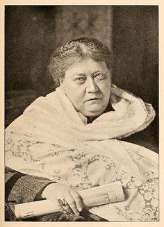 Russian occultist Helena Petrovna Blavatsky (Еле́на Петро́вна Блава́тская) 1831 – 1891 | Flickr - Photo Sharing   -0-