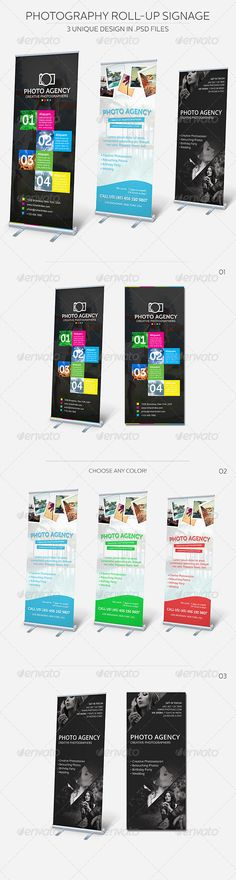Photography Roll-up Signage http://graphicriver.net/item/photography-rollup-signage/discussion/5416669