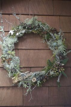 woodland wreath by Alicia