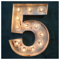 marquee numbers 18custom steel number light up number vintage number marquee number 1 2 3 4 5 6 7 8 9 0