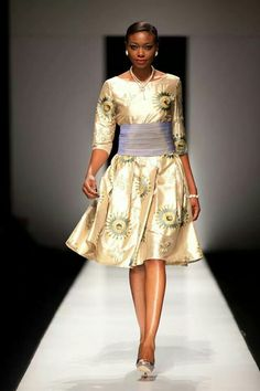 Opulence on the runway!