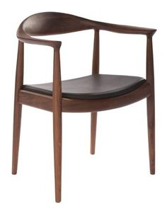 The Replica Round Dining Chair from Replica Hans Wegner is an icon of mid-century design, offering your living space detailed style and quality. Round Chair, Hans Wegner, Metal Chairs, Round Dining, Mid Century Design, Dining Chairs, Dining Room, Armchair, Wood