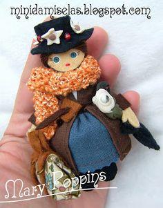 Minidamiselas, muñecas de broche románticas y coquetas: Supercalifragilisticoespialidoso