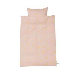 Ferm Living Kinderbettwäsche Teepee rosa 100 x 140 bei kinder räume