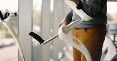 Finally someone has reinvented crutches.  You won't believe how well they move