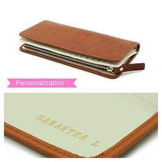 Woman leather wallet BROWN wallet for women