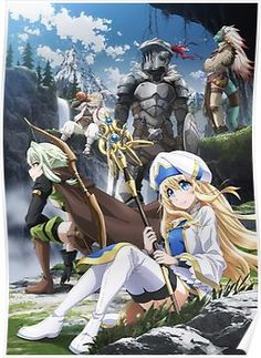 The Goblin Slayer TV anime is directed by Takaharu Ozaki and features animation production by White Fox. It's the Goblin Slayer who comes to their res. Goblin, Manga Anime, Anime Art, Sword Art Online, Anime Dubbed, Anime Kunst, Elfa, By Any Means Necessary, Anime Lindo