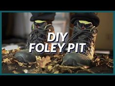 Record foley in the comfort of your own home by building a DIY foley pit out of dirt-cheap materials you can get anywhere. Sound Art, You Sound, Foley Sound, Next Film, Design Language, Animation, Make It Yourself, Dirt Cheap, Diy