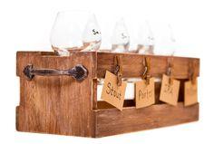 Vintage Distressed Premium Wooden Craft Beer by TheCraftKind