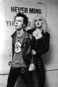 Sid Vicious + Nancy Spungen