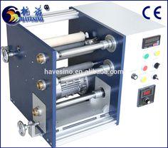 TRS250 High Quality Simple and Usful Mini Barcode Ribbon Slitting Rewinding Machine